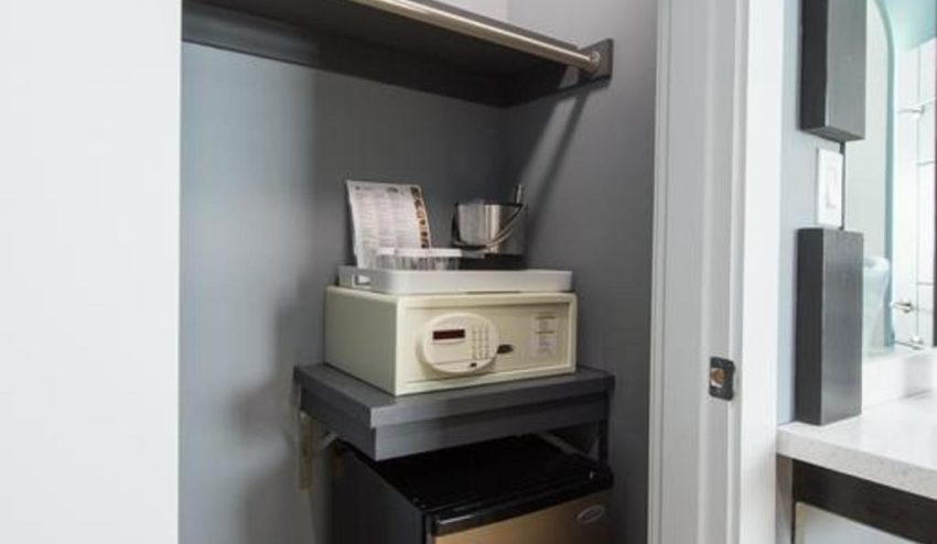 In-Room Safety Deposit Box