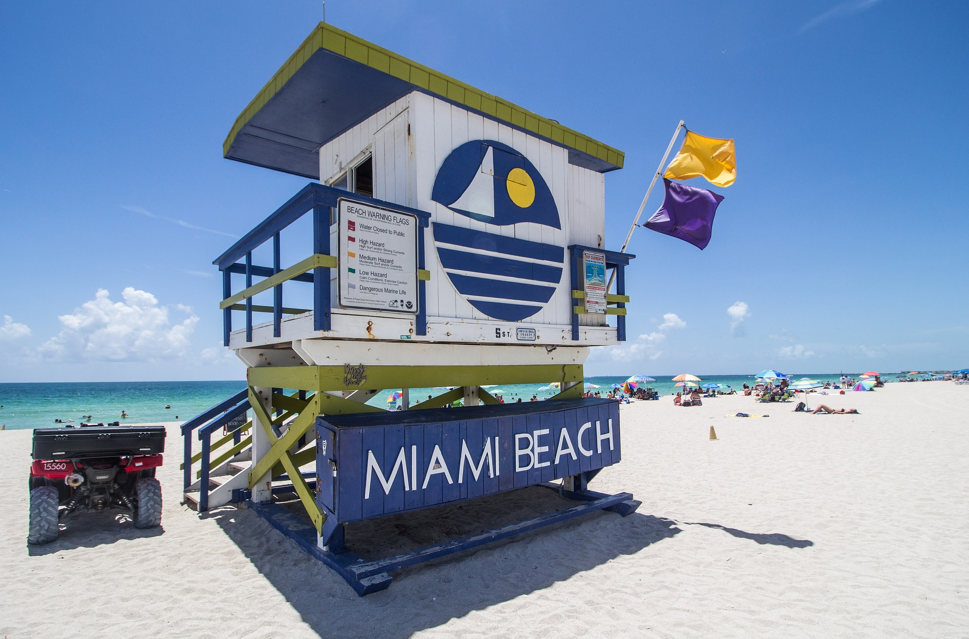 Miami Beach Lifeguard Tower 5th Street