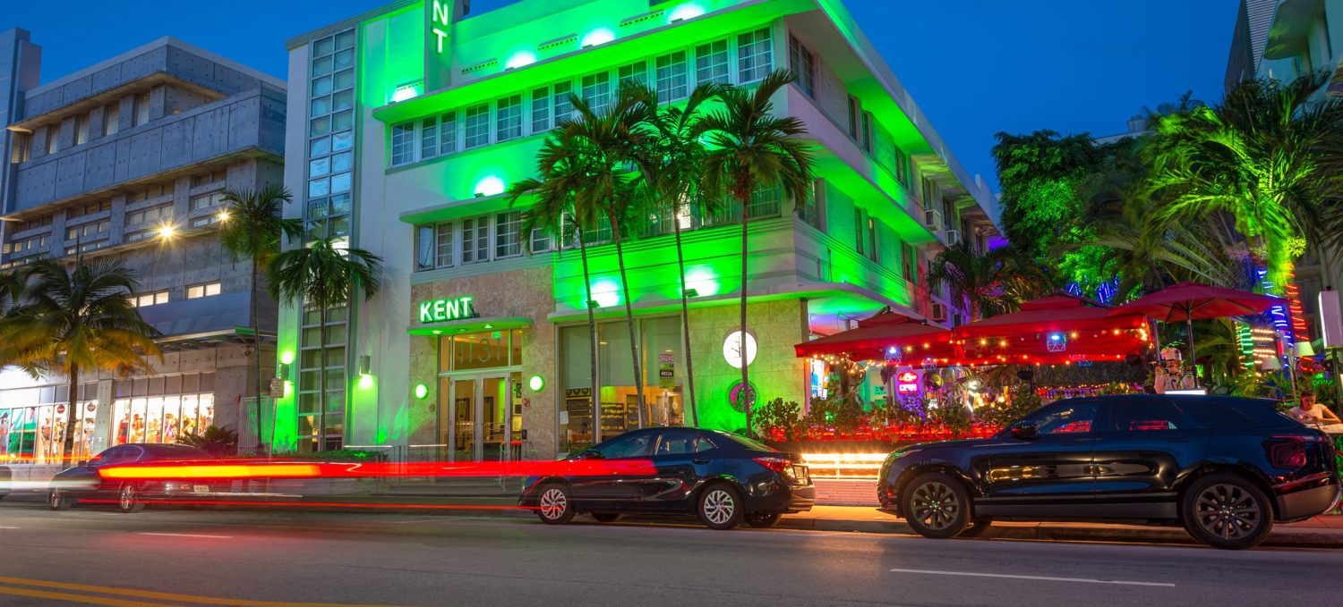 Front of Kent Hotel